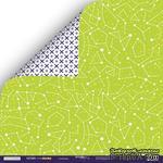 Лист двусторонней бумаги 30x30см от Scrapmir - Созвездие - Ticket to the Moon - ScrapUA.com