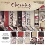 Набор двусторонней бумаги от Scrapmir - Charming (Очарование), 20х20см, 10 шт. - ScrapUA.com