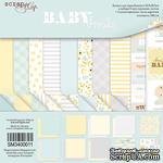 Набор двусторонней бумаги от Scrapmir - Smile Baby, 30х30см,10 листов - ScrapUA.com