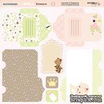 Лист двусторонней бумаги от Scrapmir - Конверты - Doll Baby, 20х20см  - ScrapUA.com