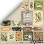 Лист односторонней бумаги для скрапбукинга  от Scrapmir - Карточки (RU) - Cozy Forest, 30х30 - ScrapUA.com