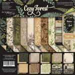 Набор двусторонней бумаги от Scrapmir - Cozy Forest,  20х20см, 10 шт - ScrapUA.com