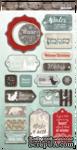 Чипборд для скрапбукинга от Scrapmir - Nordic Spirits (англ. язык) , 18 шт. - ScrapUA.com