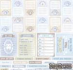 Лист односторонней бумаги от Scrapmir - Карточки RU из коллекции Mommy's Hero, 30x30 см - ScrapUA.com