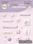 Набор эпоксидных наклеек от Scrapmir - Daddy's Princess,  16 шт - ScrapUA.com