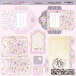 Лист двусторонней бумаги от Scrapmir - Конверты Daddy's Princess, 20х20см - ScrapUA.com