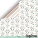 Лист двусторонней бумаги от Scrapmir - Карусель - Happy Days, 30x30см - ScrapUA.com