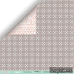Лист двусторонней бумаги от Scrapmir - Цветочный узор из коллекции Happy Days, 30x30см, 10шт - ScrapUA.com