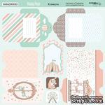 Лист двусторонней бумаги от Scrapmir - Конверты Happy Days, 20х20см, 10шт - ScrapUA.com