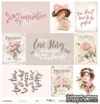 Лист односторонней бумаги от Scrapmir - Cards из коллекции Beautiful Moments, 30x30см, 10шт - ScrapUA.com