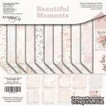 Набор двусторонней бумаги от Scrapmir - Beautiful Moments, 20х20см, 11шт - ScrapUA.com