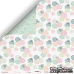 Лист двусторонней бумаги от Scrapmir - Пузырьки из коллекции Pur Pur, 30x30 см - ScrapUA.com