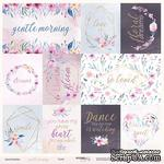Лист односторонней бумаги от Scrapmir - Cards из коллекции Gentle Morning, 30x30 см - ScrapUA.com