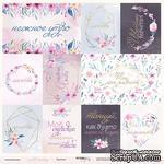 Лист односторонней бумаги от Scrapmir - Карточки (ru) из коллекции Gentle Morning, 30x30 см - ScrapUA.com