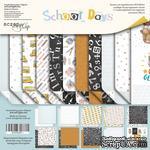 Набор двусторонней бумаги от Scrapmir - School Days, 30х30см, 11шт - ScrapUA.com