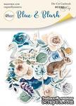 Набор высечек для скрапбукинга от Scrapmir - Blue & Blush, 48 шт - ScrapUA.com
