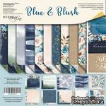 Набор двусторонней бумаги от Scrapmir - Blue & Blush, 20х20см, 11 шт - ScrapUA.com