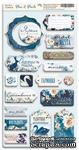 Чипборд для скрапбукинга от Scrapmir - Blue & Blush RU, 18 шт - ScrapUA.com