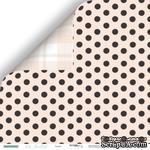 """Лист двусторонней бумаги от Scrapmir - Точки - коллекция """"Oh, Ballet"""",  30x30 см - ScrapUA.com"""