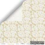 Лист двусторонней бумаги от Scrapmir - Кружево - Tenderness,  30x30 см - ScrapUA.com