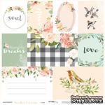 Лист односторонней бумаги для вырезания от Scrapmir - Карточки (ENG) - Peaches & Cream, 30x30см - ScrapUA.com
