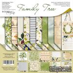Набор двусторонней бумаги от Scrapmir - Family Tree, 30х30см, 11шт - ScrapUA.com
