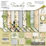 Набор двусторонней бумаги 20х20см от Scrapmir Family Tree 11шт - ScrapUA.com