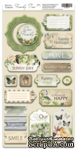 Чипборд для скрапбукинга 18шт от Scrapmir Family Tree (ENG) - ScrapUA.com