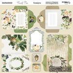Лист двусторонней бумаги от Scrapmir - Конверты - Family Tree, 20х20см  - ScrapUA.com