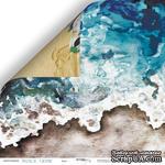 Лист двусторонней бумаги от Scrapmir - Бриз - Nautical Graphic, 30x30см - ScrapUA.com