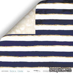 Лист двусторонней бумаги от Scrapmir - Море - Nautical Graphic, 30x30см - ScrapUA.com