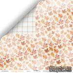 """Лист двусторонней бумаги от Scrapmir - Листья - коллекция """"Falling in Love"""", 30x30 см - ScrapUA.com"""
