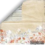 Лист двусторонней бумаги от Scrapmir - Осенние цветы - Falling in Love,  30x30см - ScrapUA.com