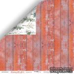 Лист двусторонней бумаги от Scrapmir - Зимний Лес - Merry Christmas, 30x30см - ScrapUA.com