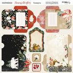 Лист двусторонней бумаги от Scrapmir - Конверты - Merry Christmas , 20х20см - ScrapUA.com