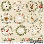 Лист односторонней бумаги от Scrapmir - Декор - Merry Christmas, 30x30см - ScrapUA.com