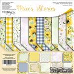Набор двусторонней бумаги от Scrapmir - Mice's Stories, 30х30см, 10 листов - ScrapUA.com