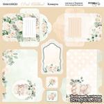 Лист двусторонней бумаги от Scrapmir - Конверты - Pink Childhood, 20х20см - ScrapUA.com