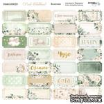 Лист двусторонней бумаги от Scrapmir - Билетики - Pink Childhood, 20х20см - ScrapUA.com