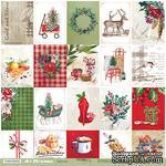Лист односторонней бумаги 30x30 от Scrapmir Карточки из коллекции Art Christmas - ScrapUA.com