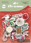Набор высечек для скрапбукинга от Scrapmir - Art Christmas, 70 шт. - ScrapUA.com