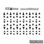 Трафарет SODAlicious - triangles - ScrapUA.com