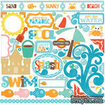 Наклейки от Echo Park - Splash Element Stickers - ScrapUA.com