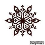Акриловый штамп Christmas Stamp SR063 Снежинка, размер 5 * 4,3 см - ScrapUA.com