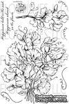 Набор акриловых штампов от Flourishes - Sweet Peas Stamp Set - ScrapUA.com