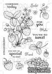 Набор акриловых штампов от Flourishes - Strawberries Stamp Set - ScrapUA.com
