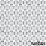 Акриловый штамп от Flourishes - Basketweave Stamp - ScrapUA.com