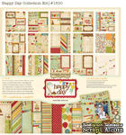 Набор бумаги и декора от Simple Stories - Happy Day -Collection Kit, 30x30см - ScrapUA.com