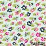 Лист скрапбумаги от Echo Park - Fancy Floral, 30х30 см - ScrapUA.com