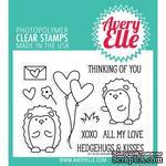 Акриловый штамп Avery Elle - Hedgehugs Clear Stamps - ScrapUA.com